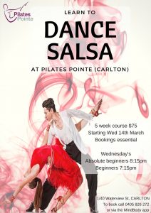 Pilates Point Learn To Salsa